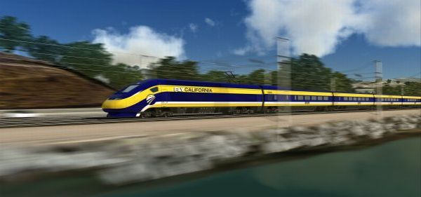 California's high-speed bullet train