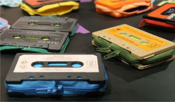 Cassette Tape Wallets