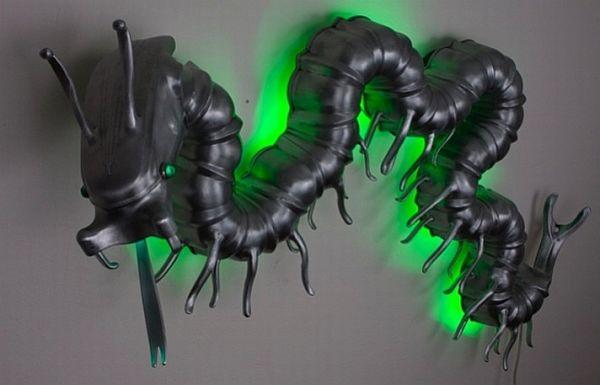 Centipede Sculpture
