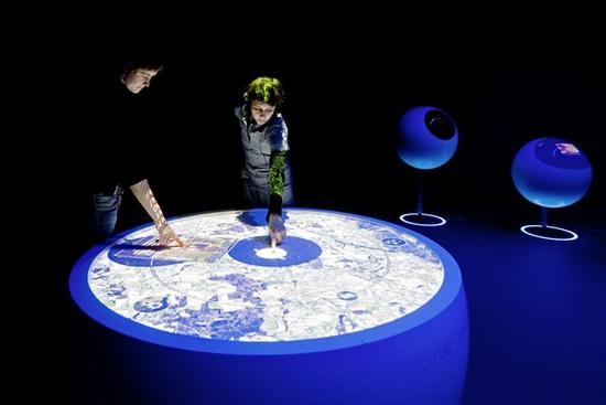 cern universe of particle exhibition 2