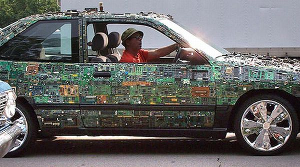 Circuit Board Car