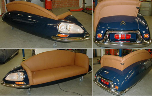 Citroen ds couch Yesec
