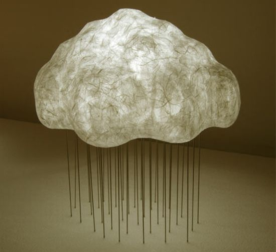 cloud lamp made from japanese paper 2