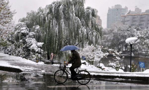 Cloud Seeding in China