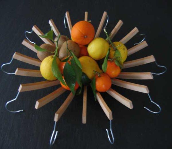 Coat Hanger Fruit Bowl