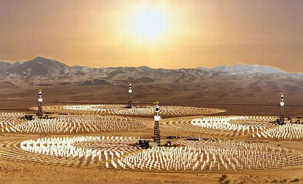 Cobra energy solar power plant