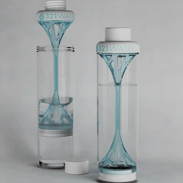 Crowd-funded eco friendly water bottle