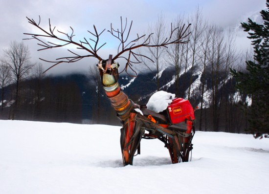 davide pans wildlife sculptures 1