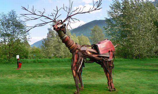 davide pans wildlife sculptures 7