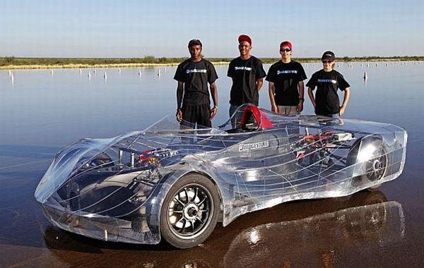 Electric car by DeLaSalle School