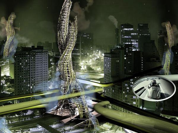 Detox skyscraper