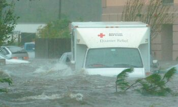 devastation caused by hurricane