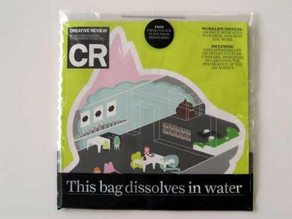 Dissolving Plastic Bag