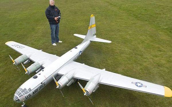 DIY electric Boeing B-50