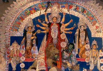 durga puja celebration