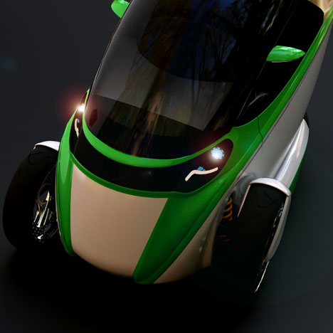 e true ev concept gets going on three wheels 3