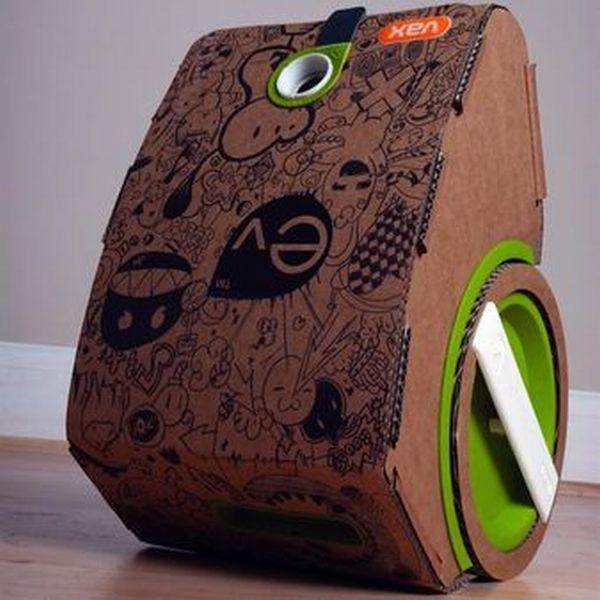 Cardboard Vacuum