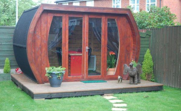 Eco shed turned nail salon 4