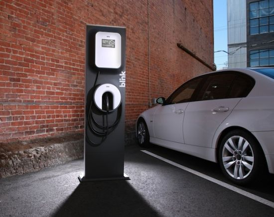 ecotality blink charging station 1