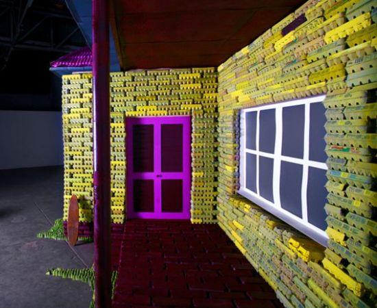 egg carton house 2