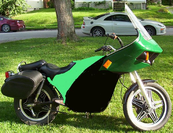 Electric bike by Tony Parker