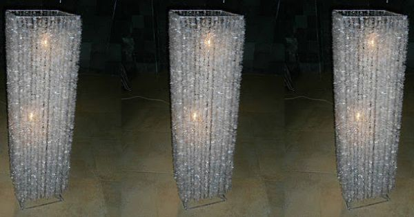 Environment friendly crystal lamp