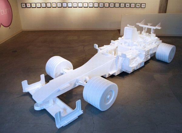 F1 racecar replica