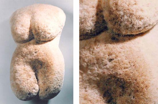 female torsos recycled material 18