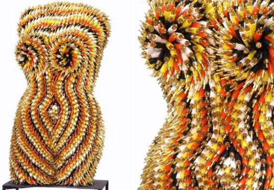 female torsos recycled material 1