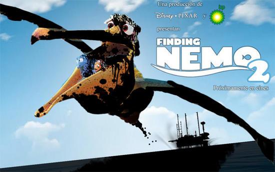 finding nemo 2 bp disaster parody posters 1