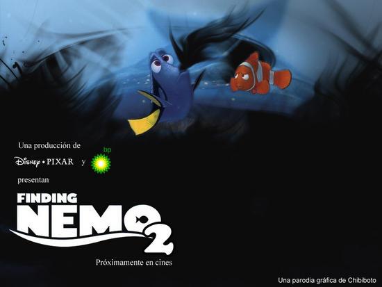 finding nemo 2 bp disaster parody posters 3
