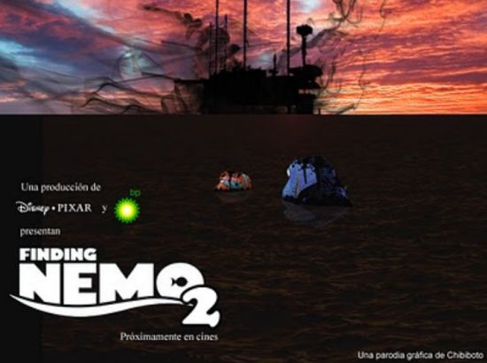 finding nemo 2 bp disaster parody posters 4