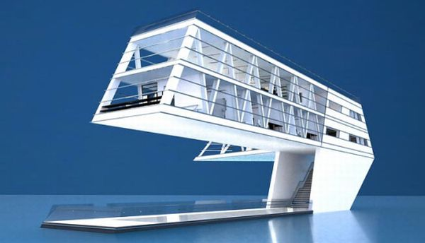 Floating House Powered by the sun