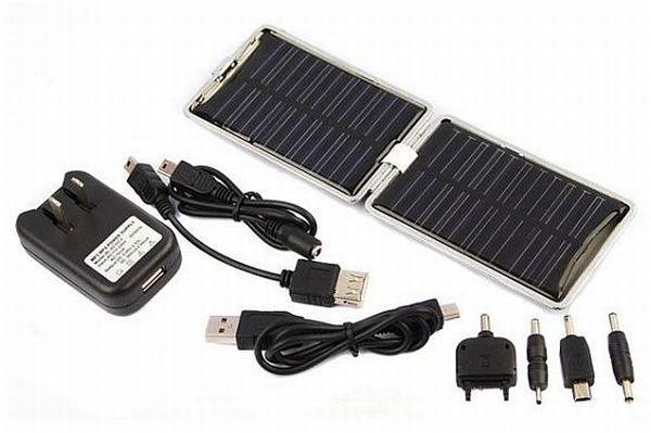 Folding solar power