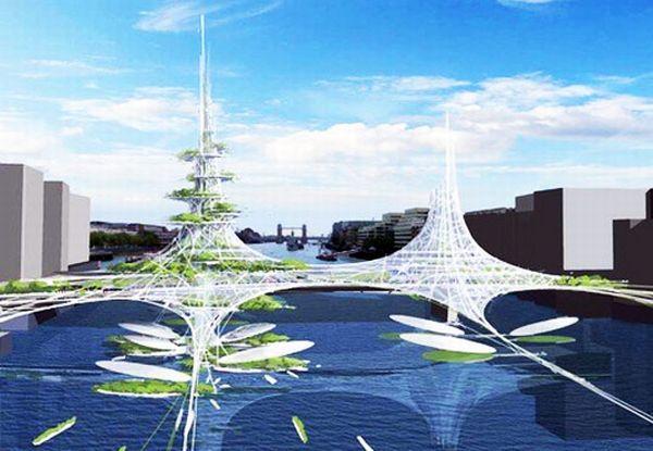 Futuristic London Bridge