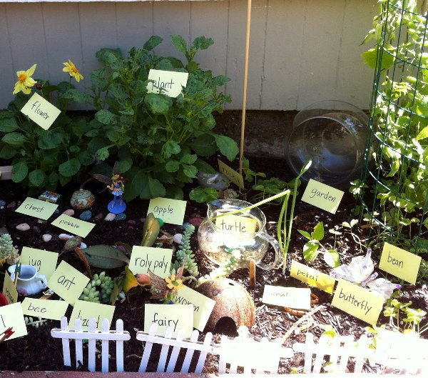 garden marker.