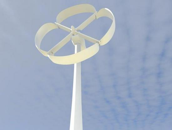 gedayc revolution wind turbine concept works at al