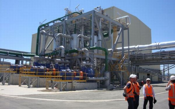 geothermal energy generating plants