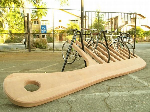 Giant Comb Bike Rack 1