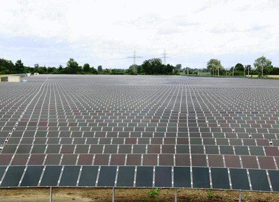 greeces largest solar park