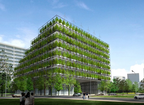 Green architecture for office