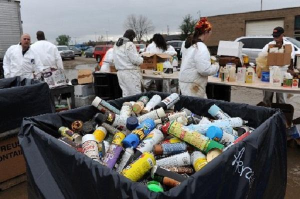 Hazardous Waste pick up