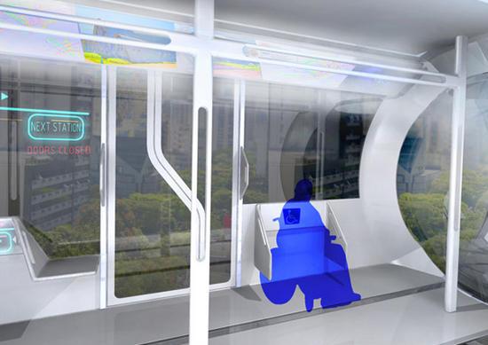 high tech train system 2