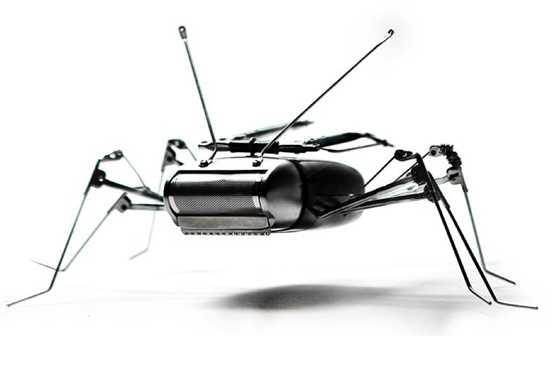 himatic recycled robotic sculpture 1