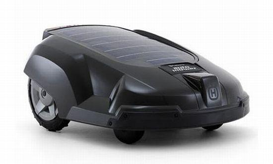 husqvarna solar powered mower1