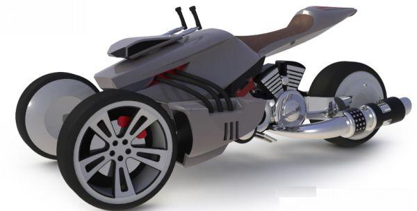 Hybrid trike