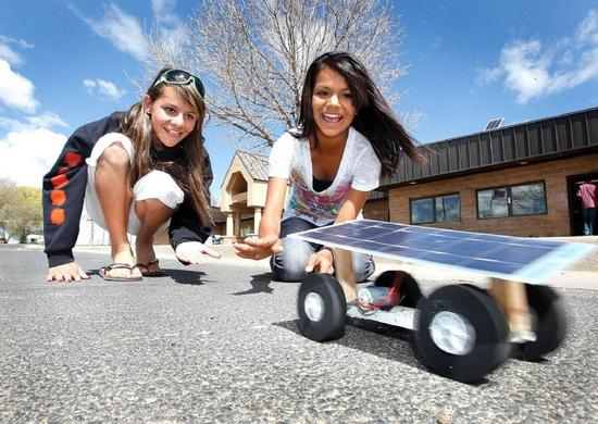 ignacio kids create solar car 1