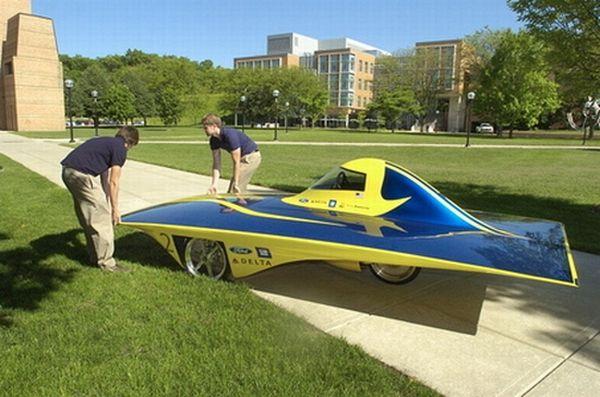 Infinium solar car
