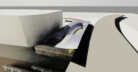 intermodal transit hub 8