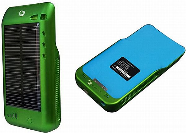 iPod Solar Charger Case